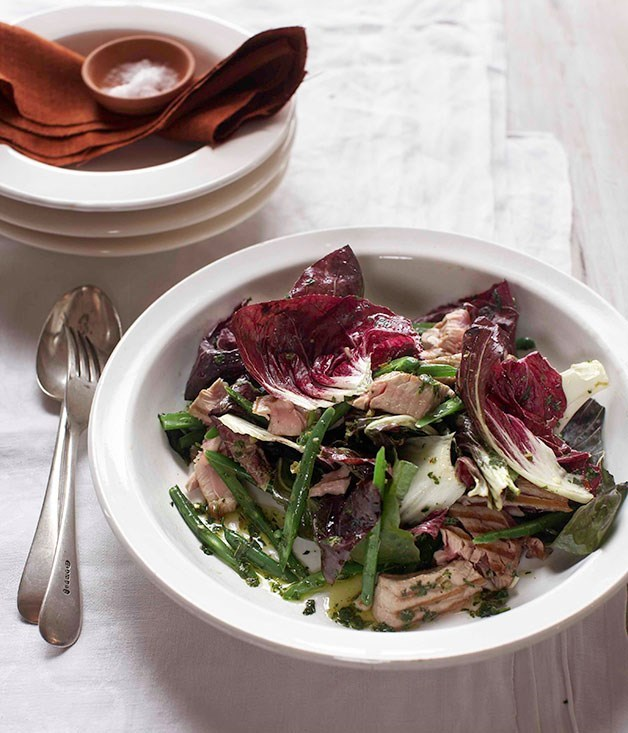 **Warm Radicchio and Tuna Salad**