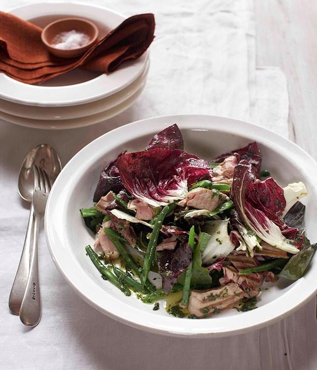 **Warm Radicchio and Tuna Salad**