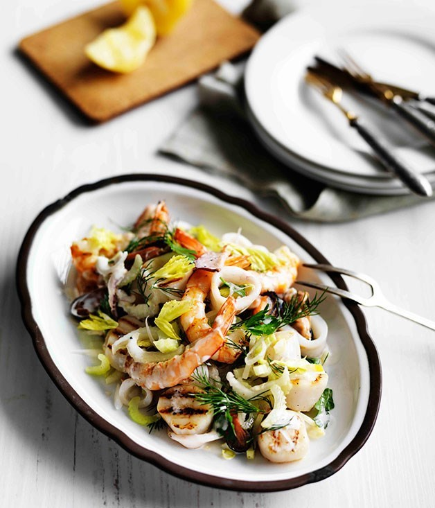 "[**Insalata di Mare**](https://www.gourmettraveller.com.au/recipes/browse-all/insalata-di-mare-11607|target=""_blank"")"