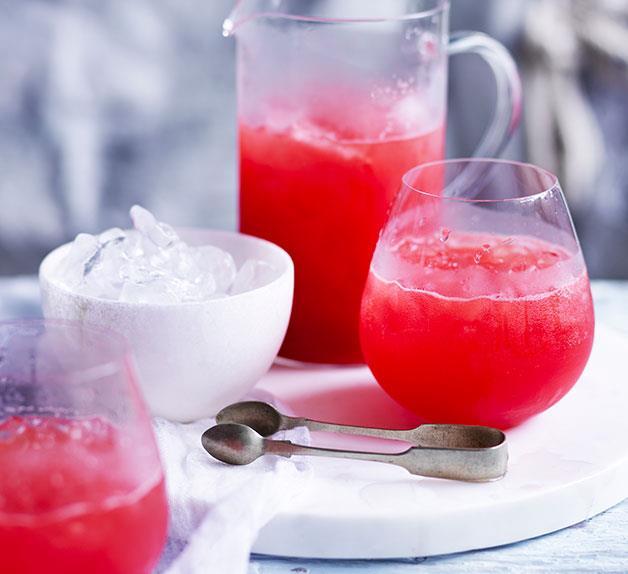 Campari-Watermelon Spritz