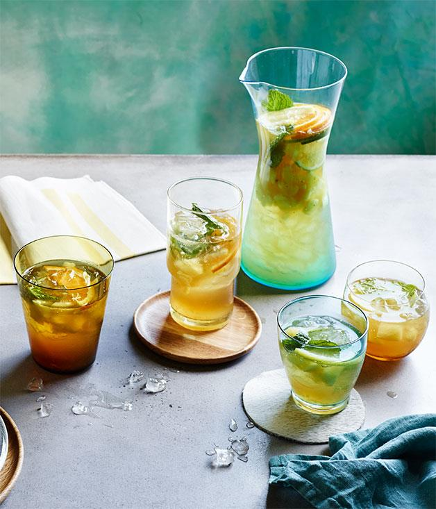 """**[Pineapple, mint, ginger and lime crush](https://www.gourmettraveller.com.au/recipes/browse-all/pineapple-mint-ginger-and-lime-crush-12197