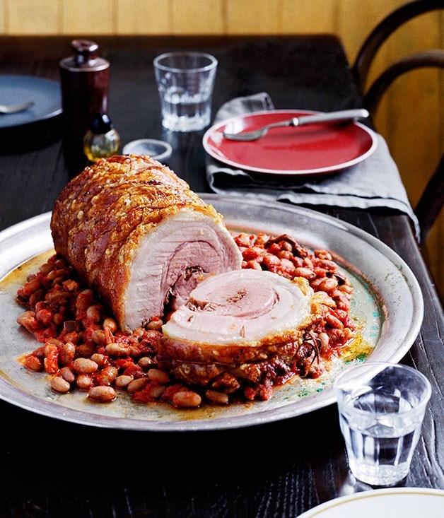 **Porchetta alla Ariccia (Arrician-Style Roast Pork Belly)**