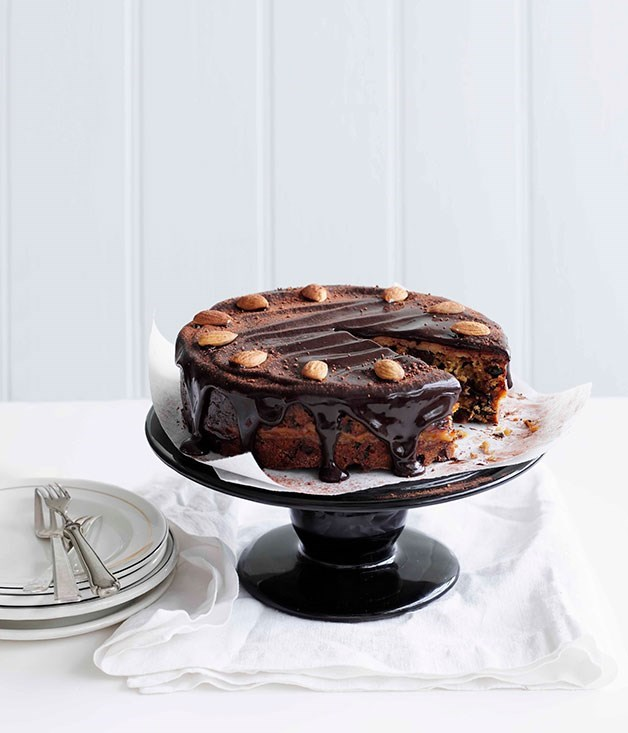 **Chocolate and Almond Simnel Cake**
