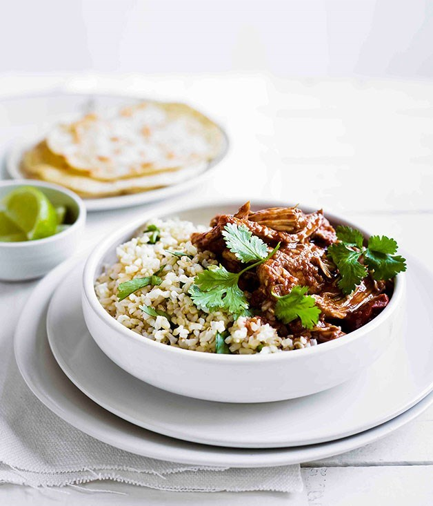 **Quick Chicken Mole**