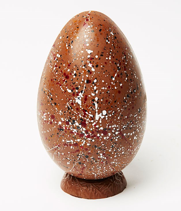 "**Hand-Painted Galaxy Egg** This Jackson Pollock-inspired chocolate egg, filled with roasted nuts and candied fruit, is almost too beautiful to eat. Almost… _Milk chocolate egg, $36, [kakawachocolates.com.au](http://www.kakawachocolates.com.au ""Kakawa"")_"