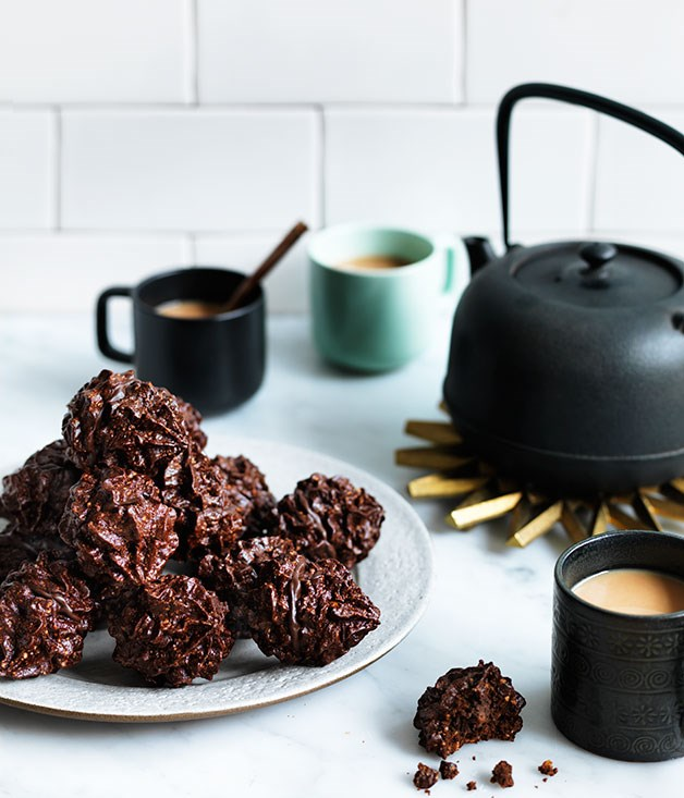 """[**Baci**](http://www.gourmettraveller.com.au/recipes/chefs-recipes/baci-8224 target=""""_blank"""")   """"I found this recipe with no title, scratched down on a random page in the back of my recipe book,"""" says Ingram. """"So few ingredients could only be those little kisses of goodness, which instantly evoke memories of my time spent in an exceptional Italian kitchen."""""""