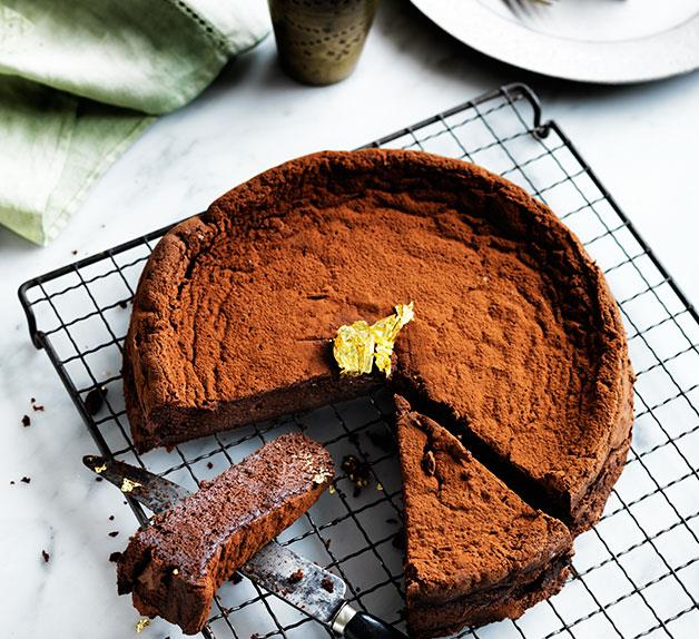 Chocolate Manjari cake