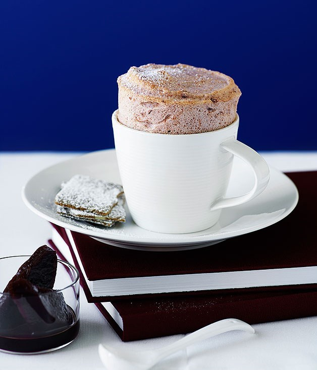 **Quince and Earl Grey soufflés**