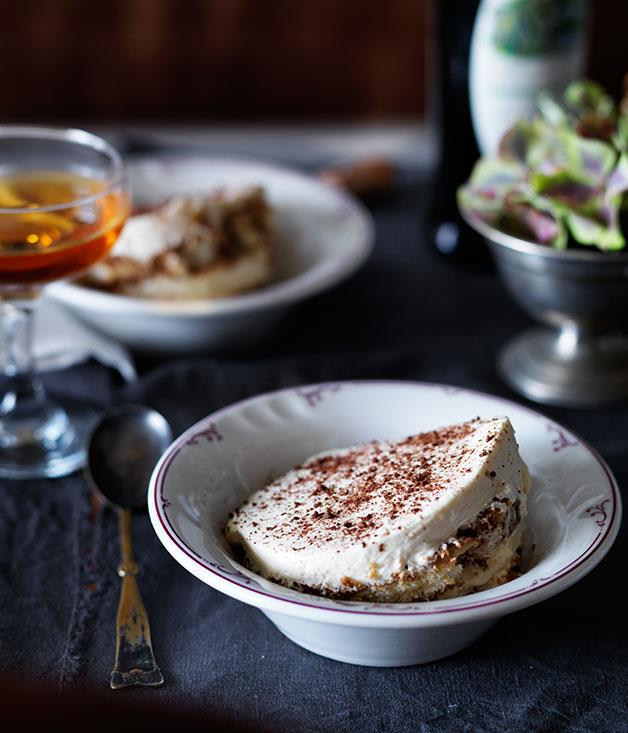 "[Dan Pepperell's (10 William St) tiramisù](https://www.gourmettraveller.com.au/recipes/chefs-recipes/tiramisu-8244|target=""_blank"")"