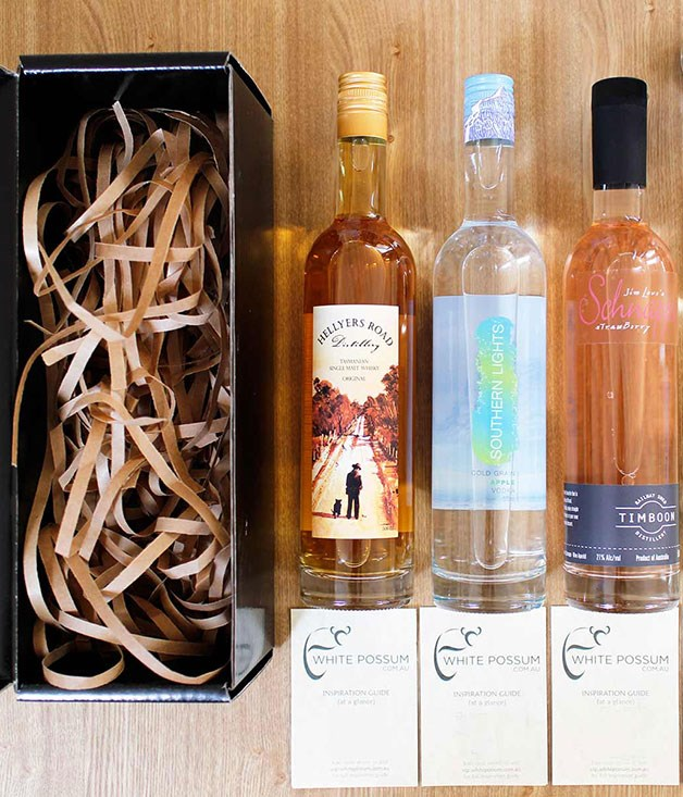 """**White Possum Subscription** Give her go-to gin and tonic a lift with a subscription to[White Possum](http://www.whitepossum.com.au/ """"White Possum""""), an online service that delivers boutique Australian spirits to mum's doorstep (and yours, too)._From $49_"""
