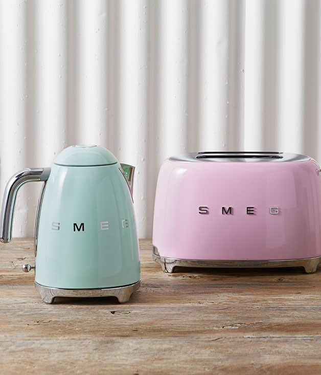 "**Smeg Kettle** This '50s-inspired cordless kettle is the latest addition to [Smeg's](http://www.smeg.com.au/aesthetic-line/50s-retro-style/ ""Smeg"") collection of retro appliances. The promise of a cup of tea at mum's place just got a whole lot sassier. _$199_"