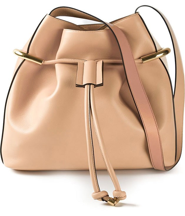"**Chloe Tote** ""Give unto others as you would have them give unto you,"" right? The beige calf leather ""Emma"" tote with show-stopping gold-tone hardware from [Chloé](http://www.farfetch.com/au/shopping/women/totes-1/items.aspx?ffref=hd_snav#ps=1&pv=60&oby=5&lsf=1&f30d2=136033&f1d0=2747 ""Farfetch"") will do the job nicely. _$2,078.85_"