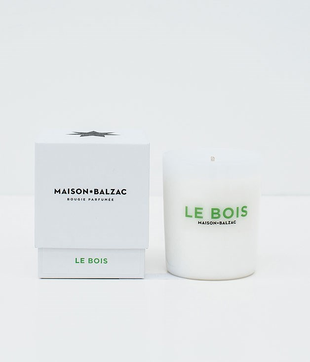 "**Maison Balzac Candle** [Maison Balzac's](http://www.maisonbalzac.com ""Maison Balzac"") handcrafted Le Bois candle - which combines sandalwood, cedar and pine needle fragrances - will transform mum's home into a Nordic spa retreat. _$59_"