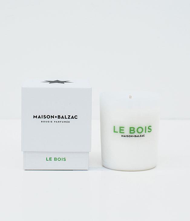 """**Maison Balzac Candle** [Maison Balzac's](http://www.maisonbalzac.com """"Maison Balzac"""")handcrafted Le Bois candle - which combines sandalwood, cedar and pine needle fragrances - will transform mum's home into a Nordic spa retreat._$59_"""