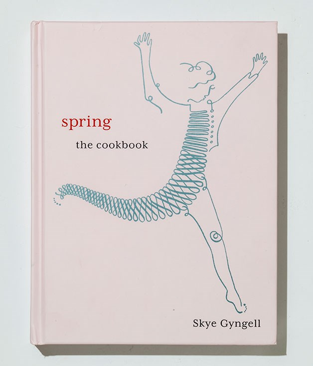 "**Spring by Skye Gyngell** Australian-born, London-based chef Skye Gyngell recently opened her first solo restaurant: Spring at Somerset House. In her latest  cookbook, [Spring](http://www.hardiegrant.com.au/books/books/book?isbn=9781849495806 ""Hardie Grant""), she shares some of her favourite new dishes. _$55_"