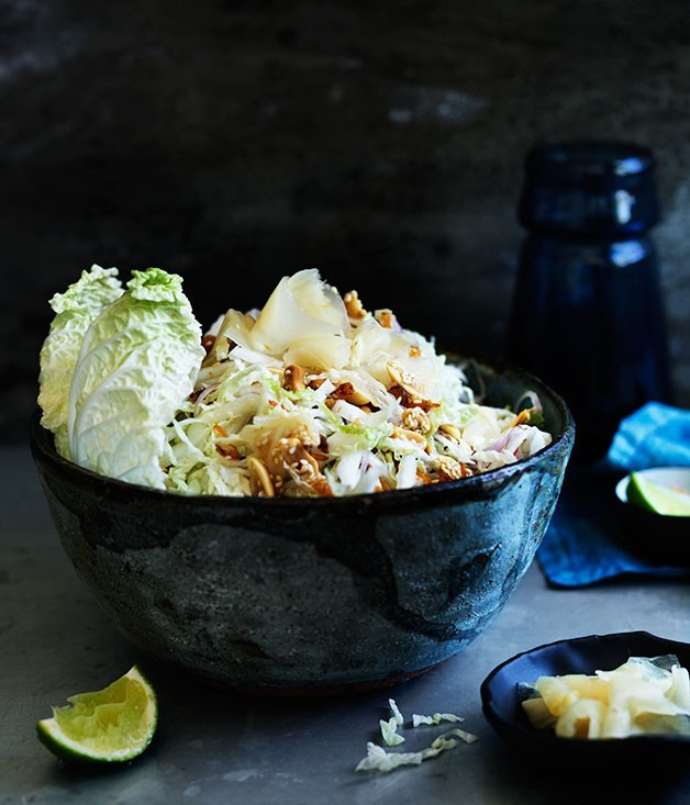 **PICKLED GINGER AND CABBAGE SALAD**