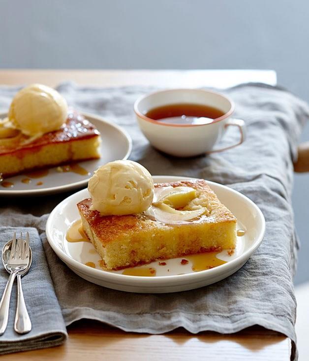 **Pear and frangipane tart**