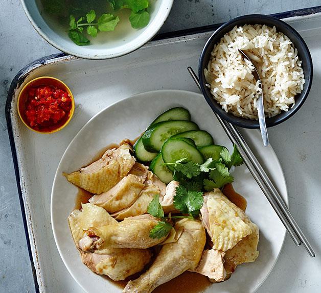 Hainanese Chicken Rice Recipe By Tony Tan Gourmet Traveller