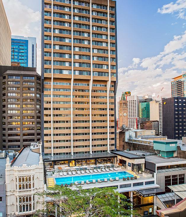 **Innovation of the Year** [Next](http://www.nexthotels.com) burst onto the Brisbane scene promising to be the most tech-forward hotel on Australian shores and, to everyone's surprise, it really delivered. The forward thinking that's gone into this Queen Street Mall high-rise is remarkable. For starters, a 24/7 Club Lounge, available before and after check-in where guests can snooze in a serenading sleep pod, swim in the pool, shower, eat, work out and do business. And then there are the smart phones given to guests on loan, loaded with free local calls and the keys to your room. In fact, Next's Smart app converts any mobile device to temperature controller, lighting designer and room service attendant. At Next, the future is now.
