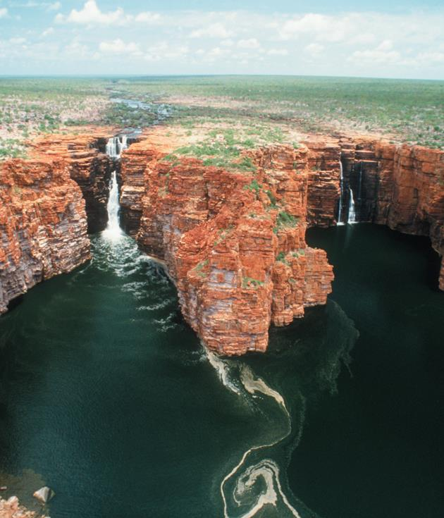 **The Kimberley, WA** With winter temperatures averaging in the low 30s, deserted sweeps of gorgeous ochre coastline and a wilderness three times the size of England, the[Kimberley region](http://www.Westernaustralia.com)is a winning winter getaway.