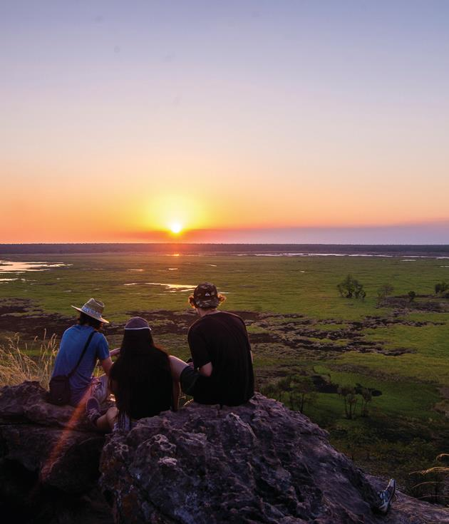 **Kakadu National Park, NT** [Kakadu](http://www.kakadu.travelnt.com/)is many things. A 50,000-year-old Aboriginal homeland. A remarkable wildlife sanctuary. An open-air gallery of indigenous art. One of Australia's most beautiful national parks. And a perfect winter escape.