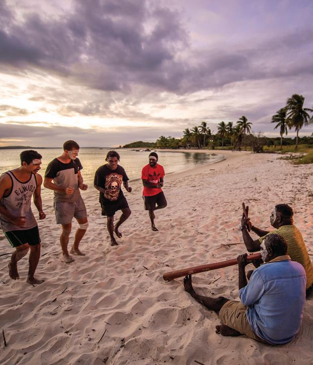 **Arnhem Land, NT** Winter is dry season in Arnhem Land and the perfect time to discover indigenous culture, art and lyrical landscapes via local operators like[Bawaka](http://www.bawaka.com.au).