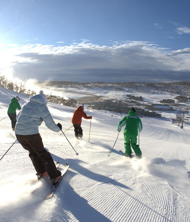 **Perisher, NSW** The[Snowy Mountains' premier resort](http://www.Perisher.com.au)(recently bought by US ski giant Vail) is the ultimate winter playground of dream runs and extensive indoor activities.