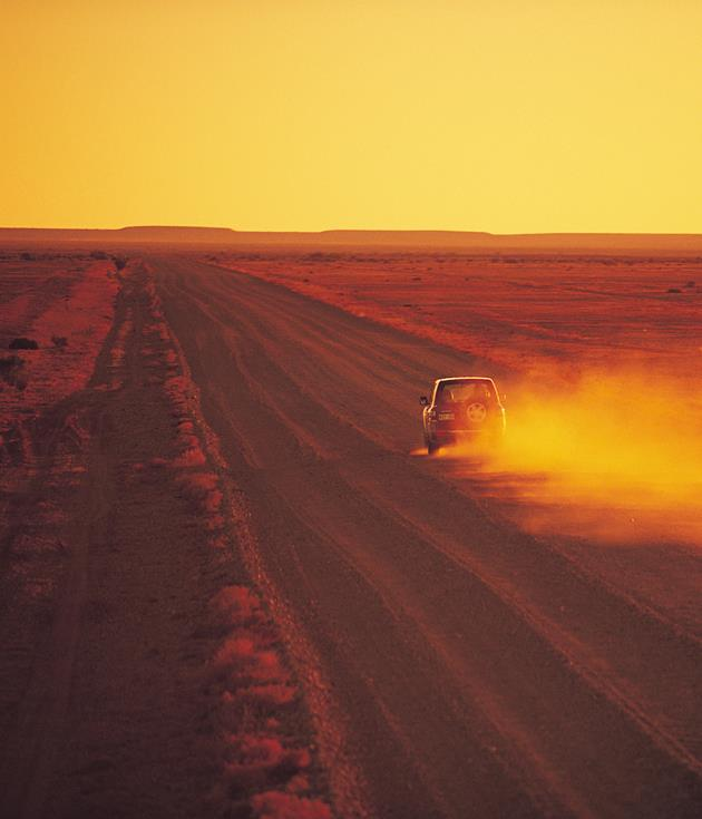 **Oodnadatta Track, SA** Trace a circuit from the opal hotspot of Coober Pedy to the hot water baths of Coward Springs, the tiny settlement of William Creek and the wonder of Lake Eyre along the[Oodnadatta Track's](http://www.southaustralia.com/info.aspx?id=9000467)620km of unsealed, untamed outback.