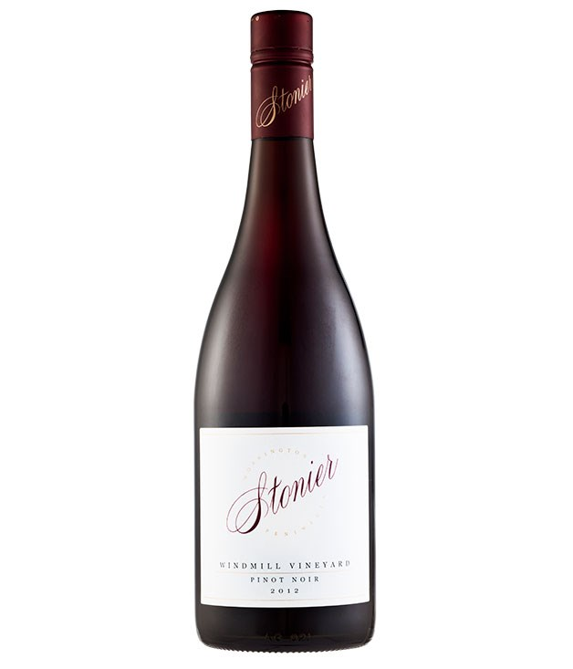 "**2012 Stonier ""Windmill"" Pinot Noir, Mornington Peninsula, Vic, $65** If you want to show someone that pinot doesn't need to be dark to be packed with flavour, pour a glass of this brick-red amalgam of sappy berries, dusty undergrowth and hedgerow succulence. [stonier.com.au](http://www.stonier.com.au ""Stonier"")"