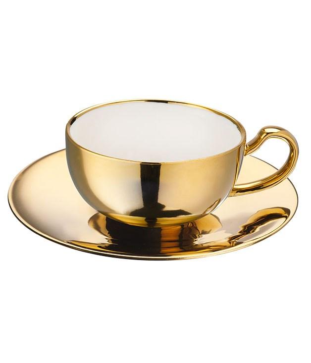 "**Society cup and saucer** Society cup and saucer, $19.95, from [Domayne](http://www.domayneonline.com.au ""Domayne"")."
