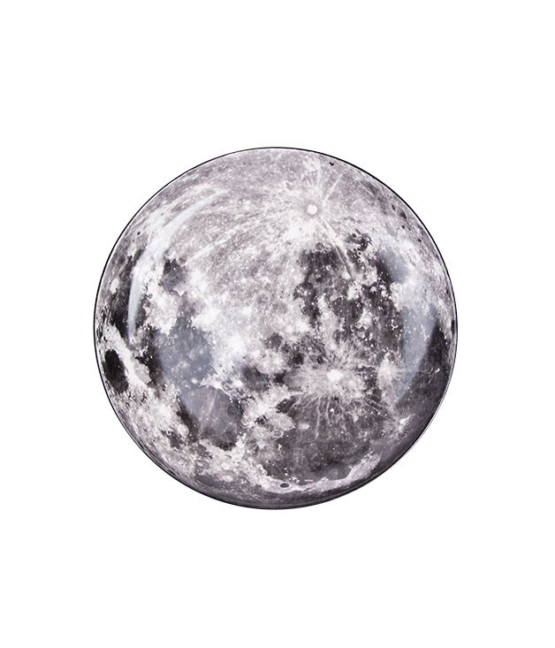 "**Cosmic diner ""Moon"" plate** Diesel Living with Seletti Cosmic diner ""Moon"" plate, $125, from [Seletti](http://www.seletti.com.au ""Seletti"")."