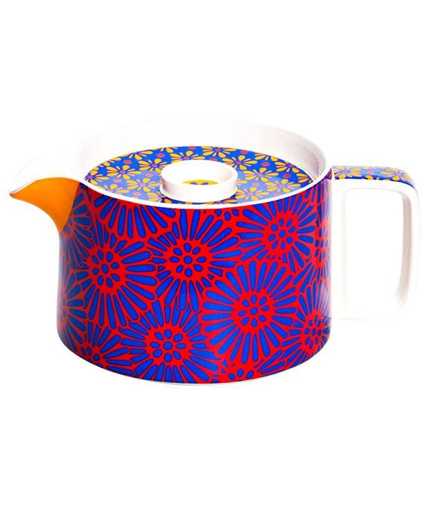 "**""Tokyo"" teapot** ""Tokyo"" teapot in Flower Pink, $48, from [T2](http://www.t2tea.com ""T2"")."