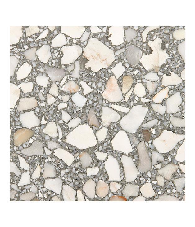 "**Fibonacci Stone Idol terrazzo** Fibonacci Stone Idol terrazzo, $105 per square metre, from [Fibonacci Stone](http://www.fibonaccistone.com.au ""Fibonacci Stone"")."