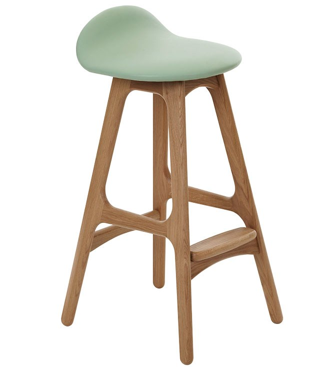 "**Erik Buch bar stool** Erik Buch bar stool in oak, $950, from [Great Dane Furniture](http://www.greatdanefurniture.com ""Great Dan Furniture"")."
