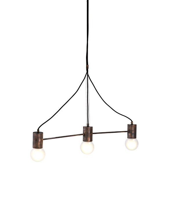 "**Emry pendant light** Emry pendant light in antique copper, from $937, from [Jardan](http://www.jardan.com.au ""Jardan"")."