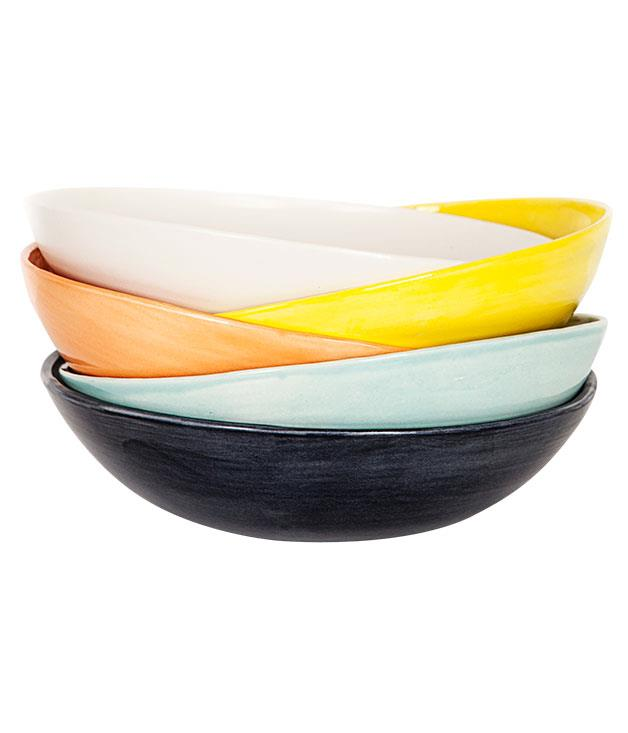 "**Batch ""Peasant"" bowls** Batch ""Peasant"" bowls, $49.50 each, from [Simon Johnson](http://www.simonjohnson.com.au ""Simon Johnson"")."