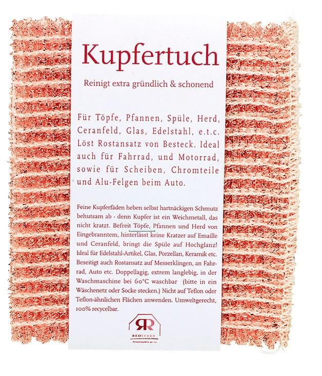 "**Copper cloth** Redecker copper cloth, $14.95, from [Saison](http://www.saison.com.au ""Saison"")."