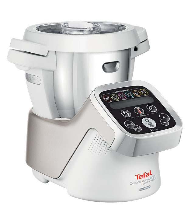 "**Tefal Cuisine Companion** Sit back and relax while this multi-function machine does the chopping, steaming, stirring and kneading for you. It has six automatic programs, 12 speeds, a 4.5-litre bowl and adjustable temperatures from 30C to 130C. [Tefal](http://www.cuisinecompanion.com.au ""Tefal""), $1699"