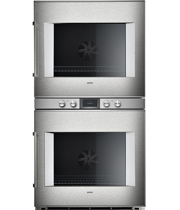 "**Gaggenau 76cm pyrolytic double oven BX48** This top-of-the-range oven has 17 heating methods, pyrolytic cleaning, TFT touch display and electronic temperature control from 30C to 300C. [Gaggenau](http://www.gaggenau.com.au ""Gaggenau""), $19,999; Sampford IXL, 1300 727 421"