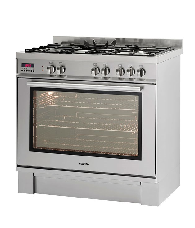 "**Blanco freestanding oven BFD915WX** At 150 litres, this 90cm dual-fuel model has the largest-capacity oven, the fastest heat-up time and a multi-fan system for even heat. [Blanco](http://www.blanco-australia.com ""Blanco""), $2499, 1300 739 033"