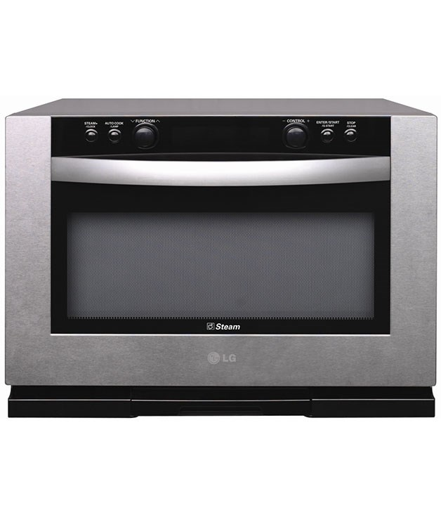 "**LG combi microwave oven MA3281T** This smart four-in-one model offers convection, microwave, grill and steam cooking. Appealing extras include an easy control panel and Infraspeed heating for tastier results. [LG](http://www.lg.com ""LG""), $999"