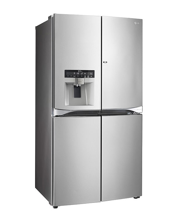 "**LG five-door French door 712-litre refrigerator GF5D712-SL** Thanks to its door-in-door design you'll have access to items without affecting its interior temperature. It also features an in-door ice-maker and three full-width shelves. [LG](http://www.lg.com/au ""LG""), $5199"