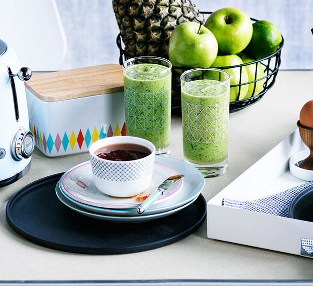 Minty breakfast blend