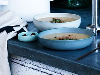 Smoky potato soup