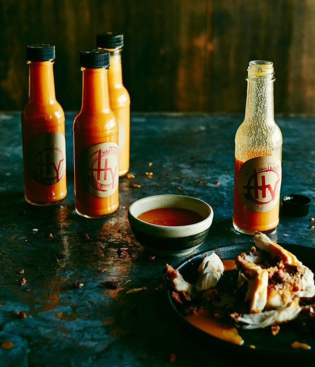 **Hartsyard hot sauce**