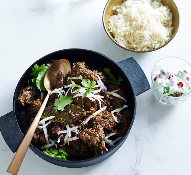 Avani's lamb curry
