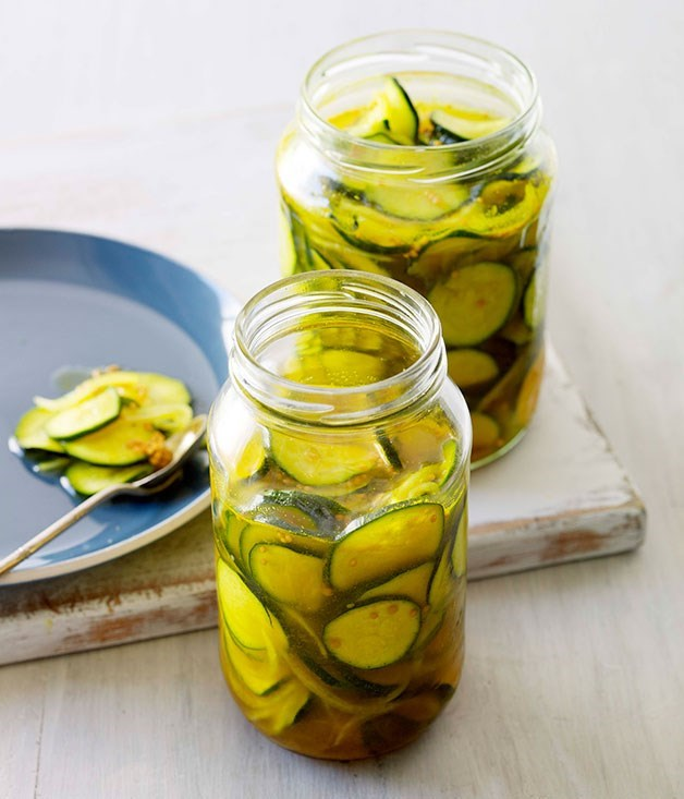 **Zuni-style pickles**