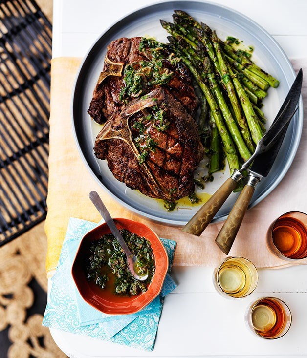 "**[Bistecca Fiorentina with Asparagus](https://www.gourmettraveller.com.au/recipes/browse-all/bistecca-fiorentina-with-asparagus-12151|target=""_blank"")**"