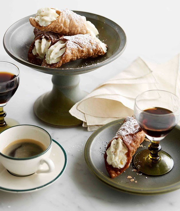 "[**Cannoli**](https://www.gourmettraveller.com.au/recipes/browse-all/cannoli-14187|target=""_blank"")"