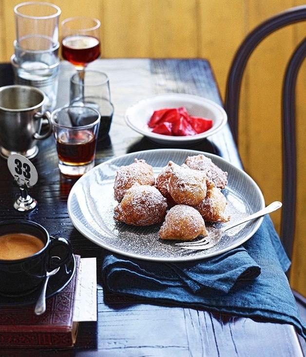 "[**Zeppole (Italian Doughnuts)**](https://www.gourmettraveller.com.au/recipes/chefs-recipes/zeppole-italian-doughnuts-7735|target=""_blank"")"
